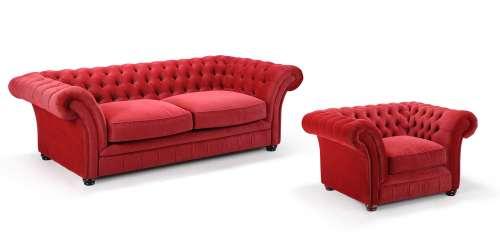 Голям фотьойл London Chesterfield