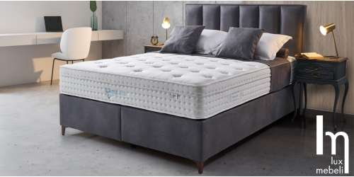 Тапицирана спалня Polo с повдигащ механизъм