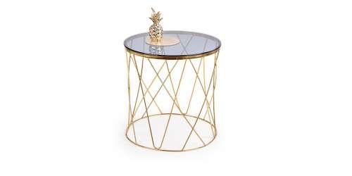 Помощна маса Selena златна