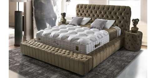 Тапицирана спалня Arya с повдигащ механизъм