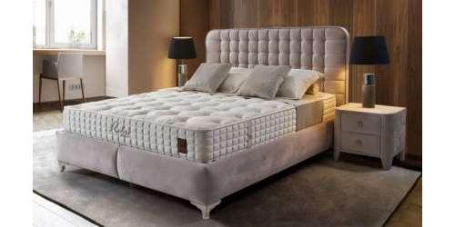 Тапицирана спалня Letto с повдигащ механизъм