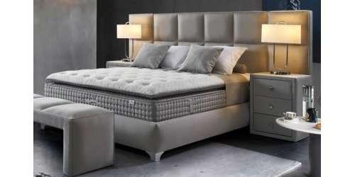 Тапицирана спалня PLANE XL с повдигащ механизъм